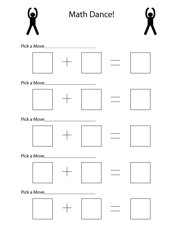 Learn Math While Dancing with this Fun Activity