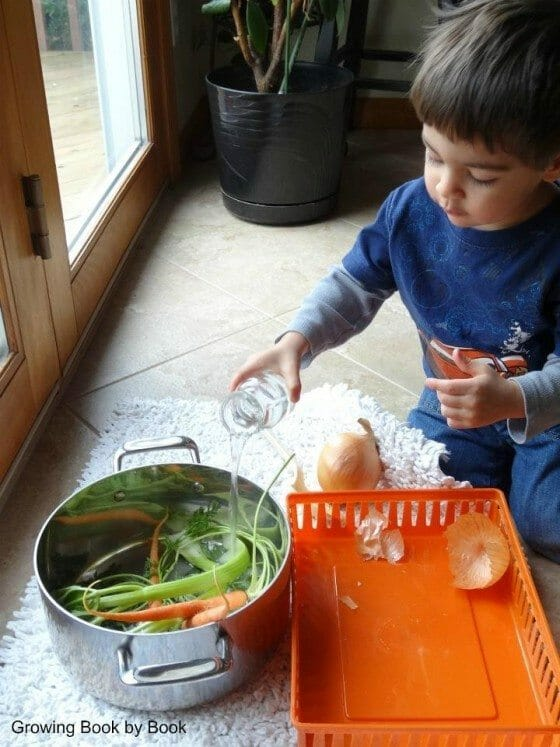 Cooking with Kids – Carrot Cooking and Play