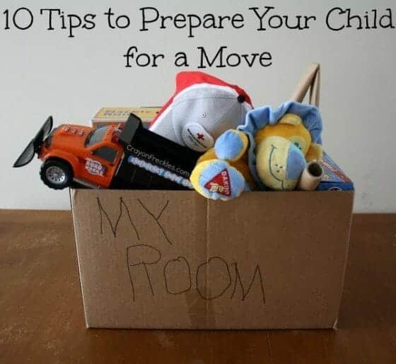 preparing child for a move