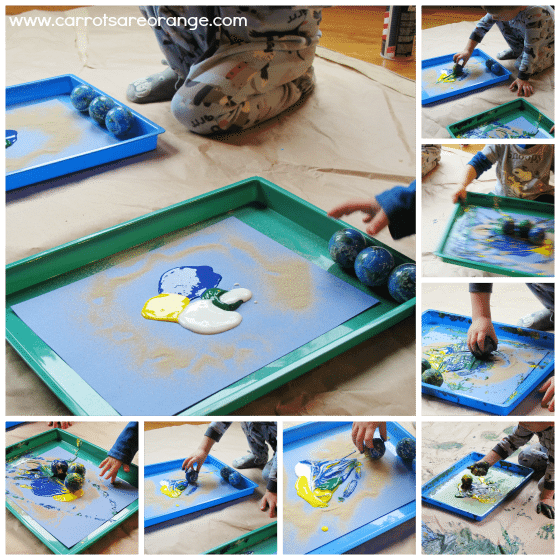 earthdayartactivityforkids Earth Day Art Activity for Kids & the Home