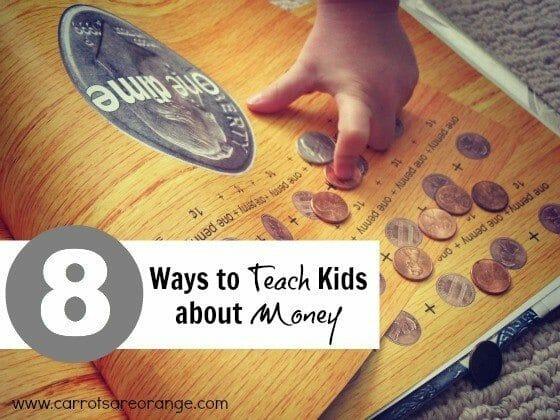 teaching kids about money activities