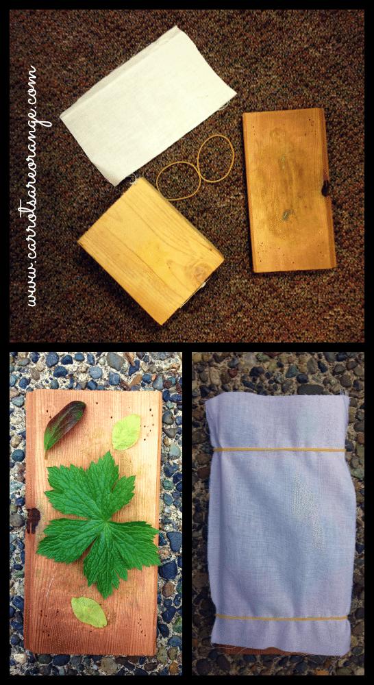 leafactivitymaterials Preschool Physical Science Activity {Leaf Pounding}