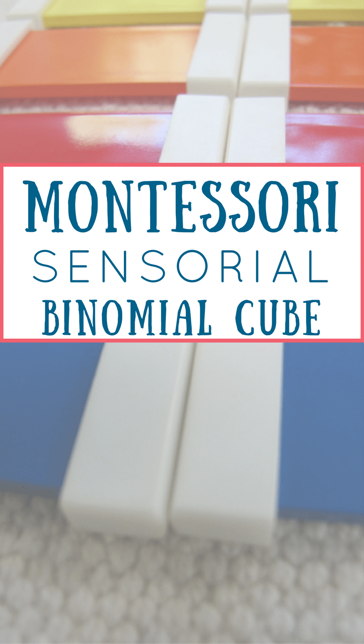 Learn the Magic of the Montessori Binomial Cube! The Binomial Cube physically represents a math equation & lays the foundation for math learning.