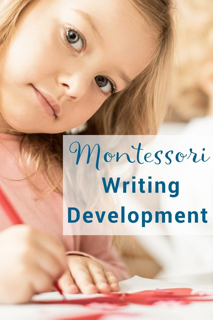 How to present Montessori writing development