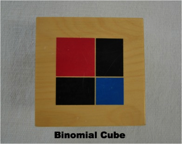 cube of binomial The trinomial cube introduces preschoolers to math in the most amazing way  using the same technique as was used with the binomial cube, close the sides.