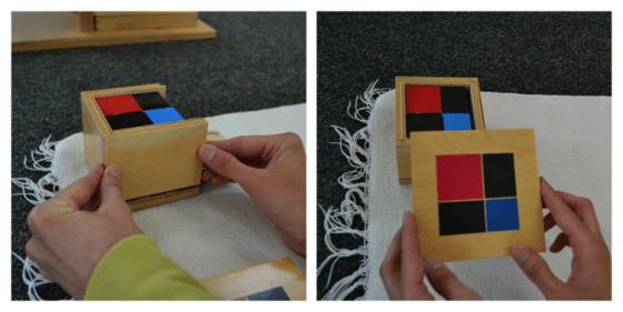 Learn the Binomial Cube Lesson for Montessori Early Childhood