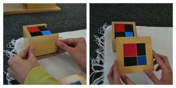 Montessori Sensorial: Binomial Cube