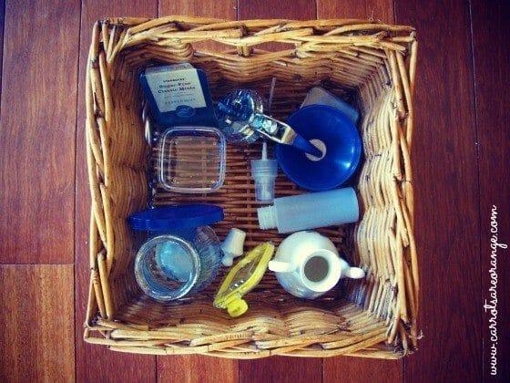 Open & Close Basket
