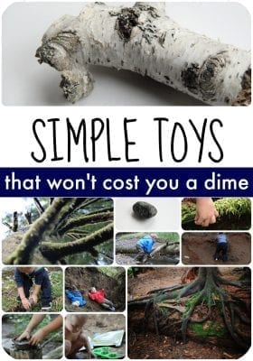 Simple Toys Collage