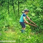 Outdoor Chores for Young Children