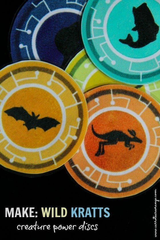 wild kratts creature power discs