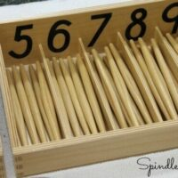 Spindle Boxes - Learn a Montessori Math Lesson