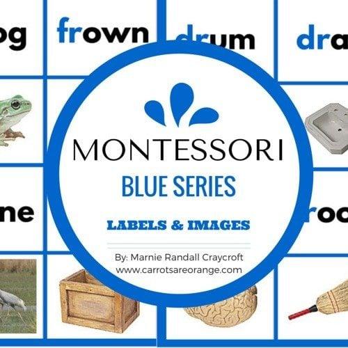 Montessori Blue Series Materials