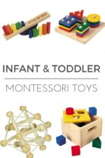 Montessori Inspired Toys for Infants and Toddlers