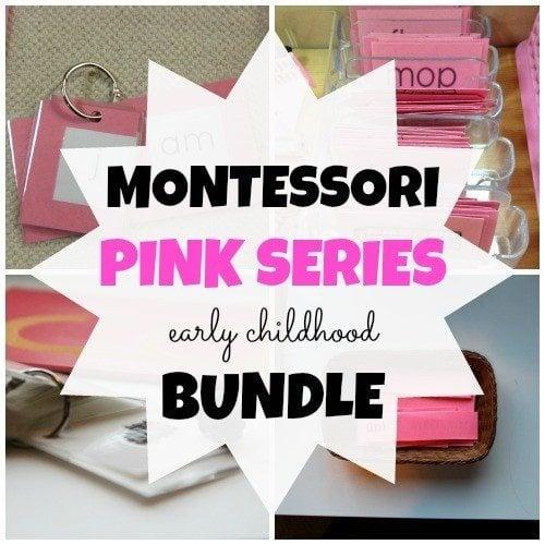 Montessori Pink Series Materials