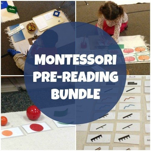 Montessori Pre-Reading Bundle