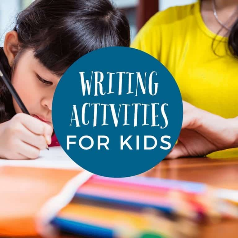 Writing Activities for Kindergarteners