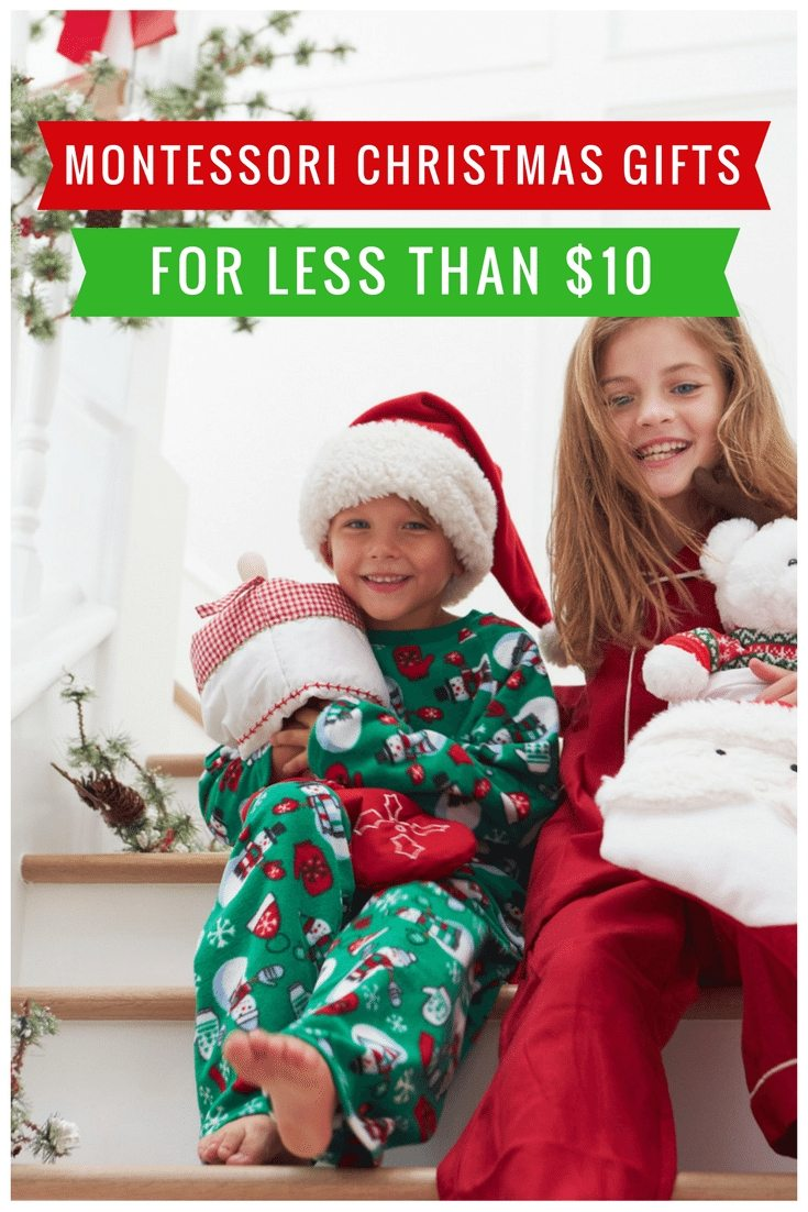 Montessori Christmas Gifts for Less than $10
