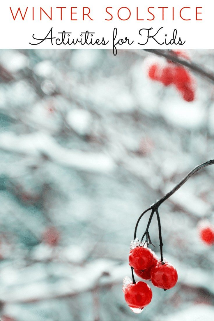 Learn beautiful ways to spend winter solstice with your family and friends. These winter solstice activities are simple to put together and unique for kids!