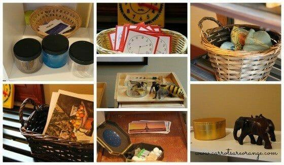 montessori works collage