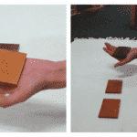 Montessori Sensorial: Baric Tablets