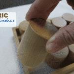 Baric Cylinders Lesson: Montessori Sensorial