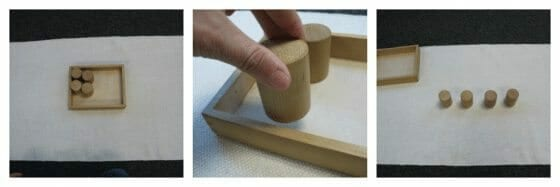 Montessori Baric Cylinder Lesson