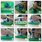Montessori Practical Life: Basting Activity