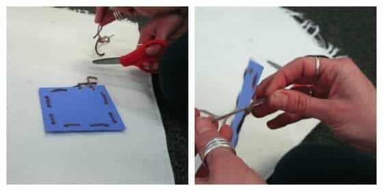 Montessori Practical Life: Card Sewing Activities for the Preschool Classroom