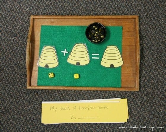 montessori math activity basic operations
