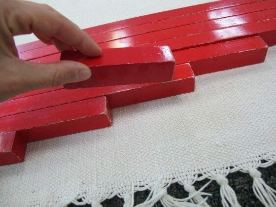 Montessori Red Rods Lesson – Step By Step Authentic Approach