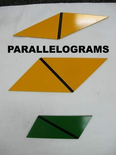 rectangle box parallelograms
