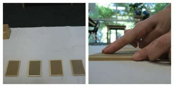 Montessori Sensorial: Rough and Smooth Touch Tablets