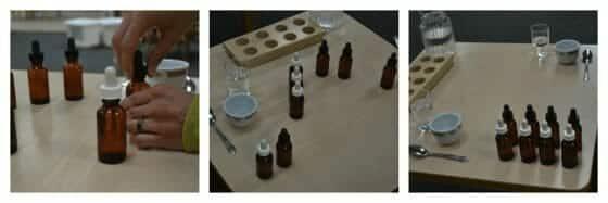 Tasting Bottles - Montessori Sensorial Lesson