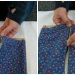 Montessori Practical Life: Zipping Frame