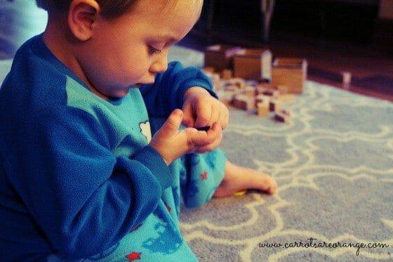 Pre-Sensorial Work Montessori