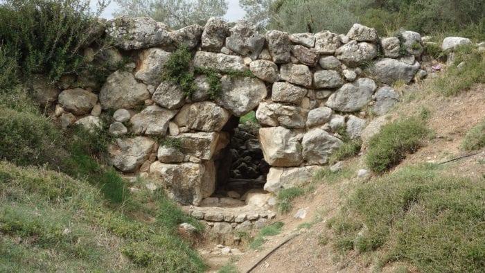 Arkadiko Mycenaean Bridge