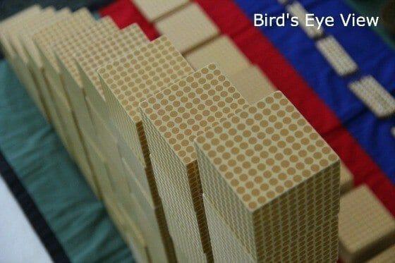 Montessori Math Lessons Bird's Eye View