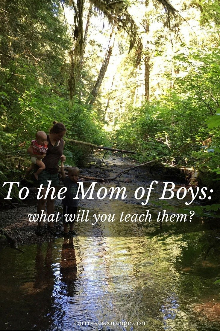 To the Mom of Boys