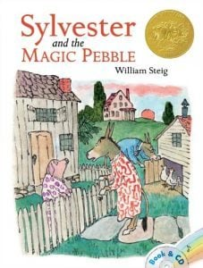 Books to teach a child about courage Magic Pebble