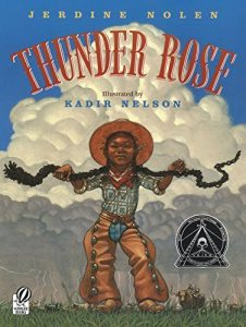 Books to teach a child about courage Thunder Rose