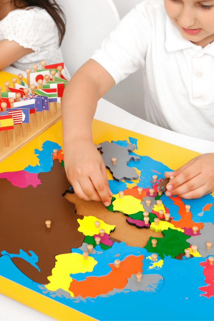 8 Awesome Preschool Geography Activities & Crafts