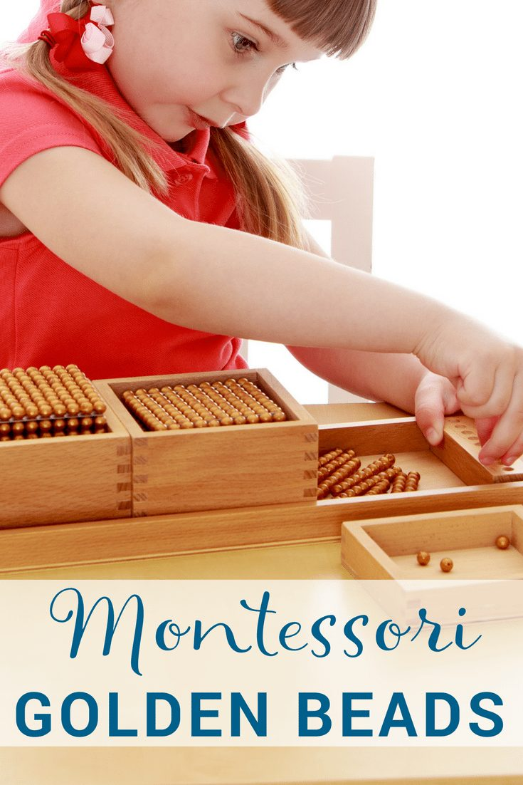 How to present Montessori golden beads
