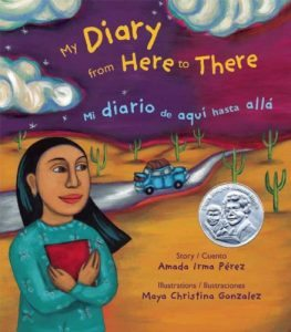 My Diary from Here to There Books about courage