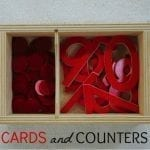 Montessori Math Cards and Counters
