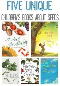 Check out these amazing children's books about seeds