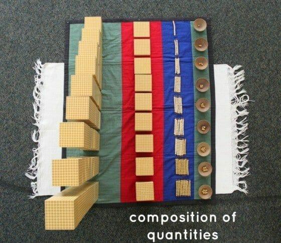 Learn Composition of Quantities Montessori Math Lesson