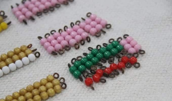 multi with short bead stair e