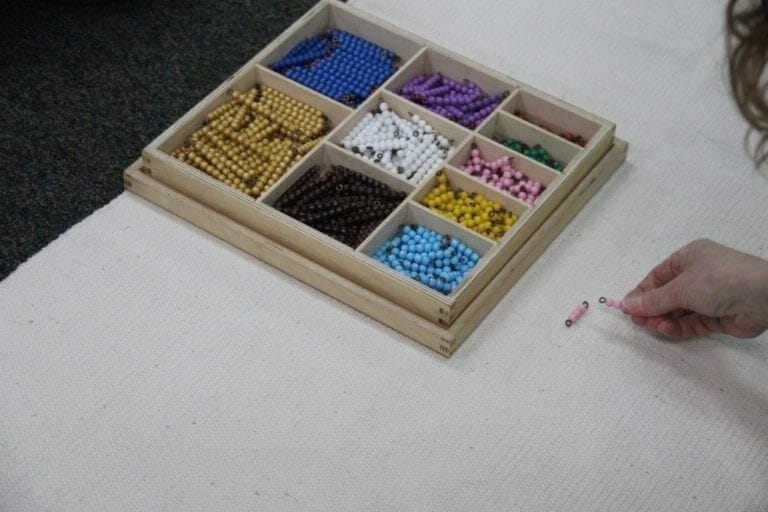Multiplication with Short Bead Stair
