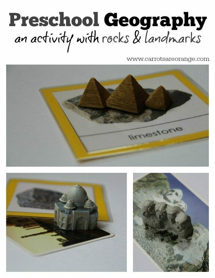 Rocks Landmark Matching Collage